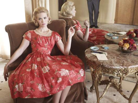 """MAD MEN--- This is a gallery portrait of January Jones as (Betty Draper) in the AMC television series """"Mad Men,"""" Season 4.  HANDOUT. Credit: AMC [Via MerlinFTP Drop]"""